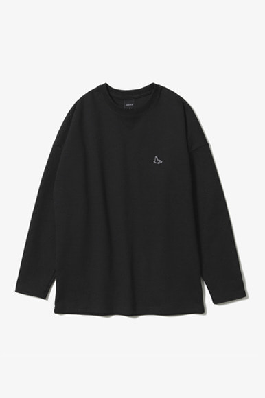 Sealion L/S T-Shirts [Black]