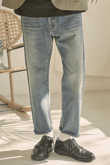Ankle Cut Standard Denim Pants [Pacific Washed]