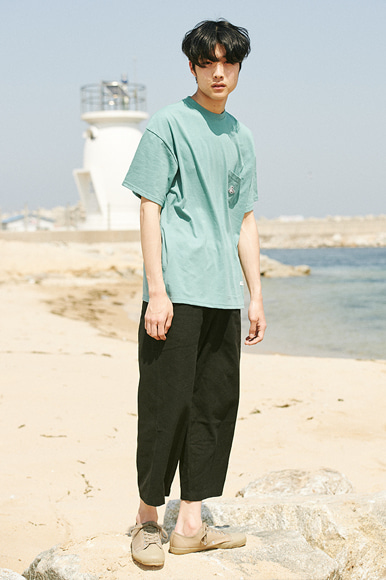 Sealion Single Pocket T-Shirts [Mint]