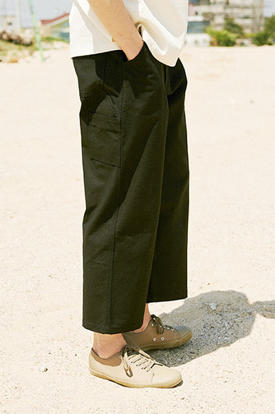 Multi Slab Carpenter Pants [Black]
